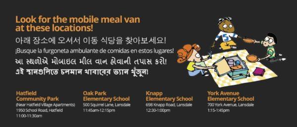Meal Van Locations