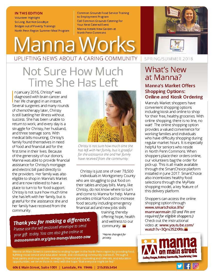 Manna on Main Street   Ending Hunger, Building Community ...
